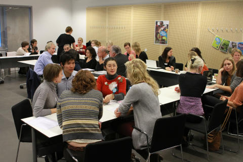 Workshop on 5th International Fairtrade Towns Conference, Malmö 2011