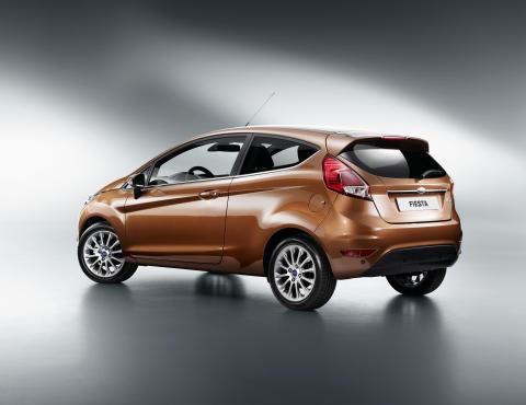 Nye Ford Fiesta vises for første gang i Amsterdam 6.september