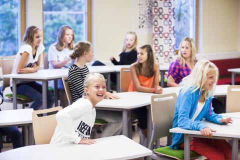 Det nya klassrummet