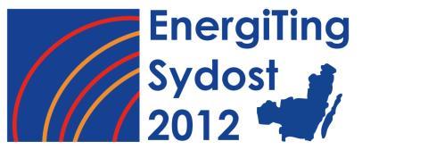 EnergiTing Sydost 2012 - Från ord till handling
