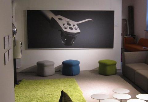 Akustiktavla Linn Concept Store, Göteborg