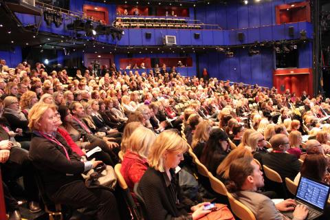 Fullsatt salong på Trendgalan 2010