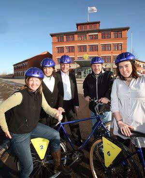 Gävle Energi utmanar regionens företagare