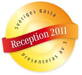 Receptionisterna hyllas för andra året i rad – 3 utser Sveriges bästa reception 2011