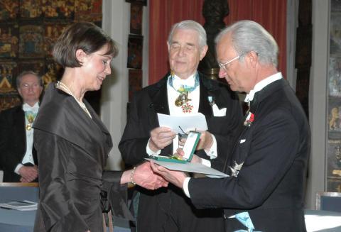 Hemfrids grundare får medalj av kungen - igen