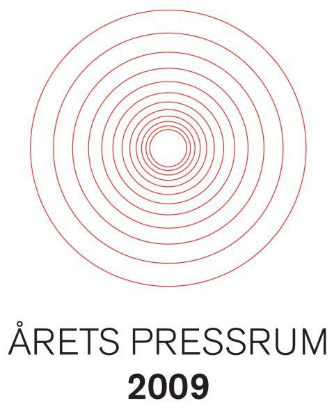 LTU fick utmärkelsen årets pressrum 2009