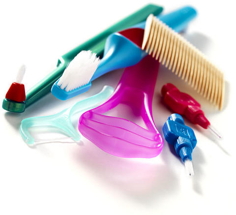 Utmana TePes tandhygienist på Allt för Hälsan 2011!