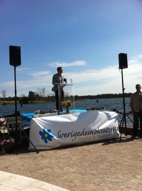 Åkessons sommartal idag livesänds på partihemsidan