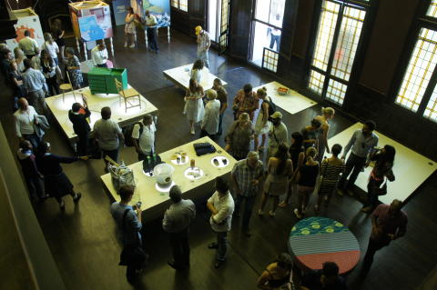 Eco Design Initiative showcases Fresh Talent Competition designs at The Green Hub.