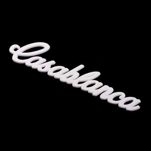 Profilskylt Casablanca