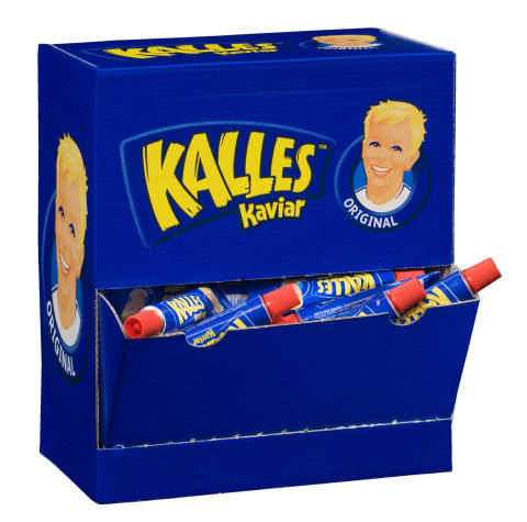 Kalles Kaviar portionstuber