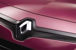 Renault Twingo er den første Renault med den nye markante designstil - blandt andet med stort logo