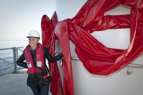 Danmarks energi- och miljöminister Lykke Friis