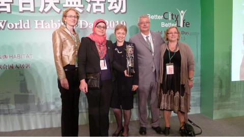 Ekostaden Augustenborg fick FN-pris i Shanghai