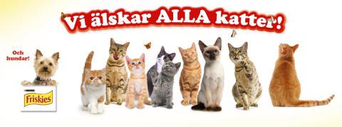FRISKIES öppnar dörren för alla kattälskare genom Facebook