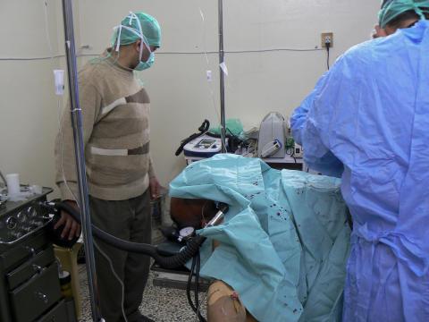 SYRIEN: Vårdpersonal och patienter i fara