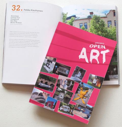 Nu är katalogen ifrån Open Art Örebro 2011 färdig!
