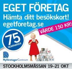 Eget Företag 19-21 oktober 2010