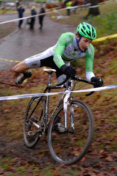 Tuff crosscup i Borås när höststormen slog till