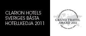 Clarion Hotels stärker sin position som Sveriges bästa hotellkedja