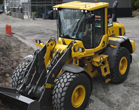 Full kontroll med Volvo hjullastare i mellanviktsklassen