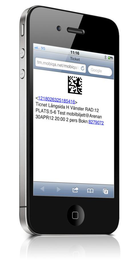 Ticnet inför mobilbiljetter till evenemang
