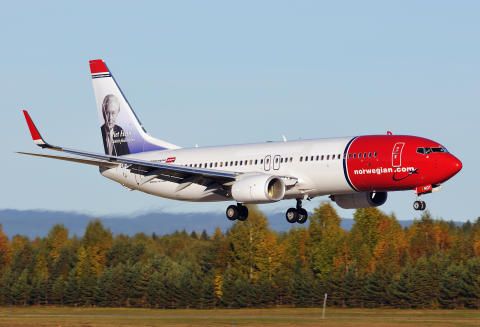 Norwegians Boeing 737-800 LN-NOT