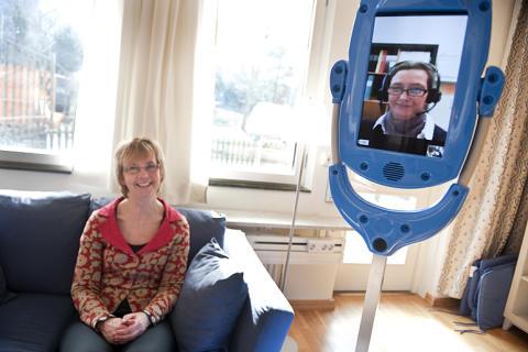 Nyinvigning av @home - en högteknologisk träningslägenhet för strokepatienter