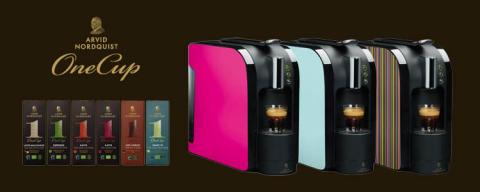 NYHET! Arvid Nordquist One Cup – kaffemaskinen med de många möjligheterna