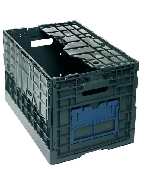 Hopfällbar plastlåda, PRELOG CMB 64400