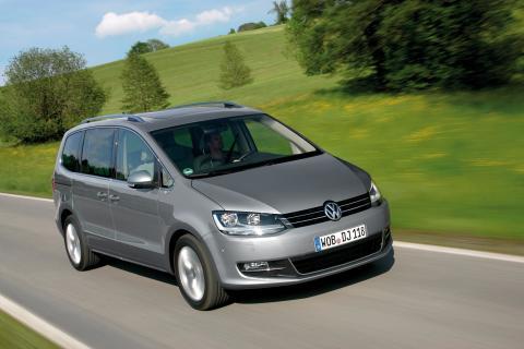 Nya Volkswagen Sharan