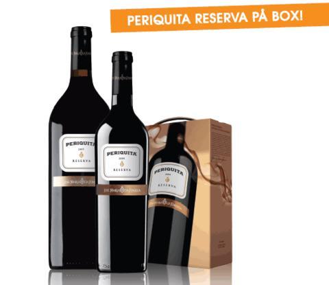 Periquita Reserva i flera storlekar - nu även Box!