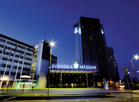 Fasadbild Svenska Mässan