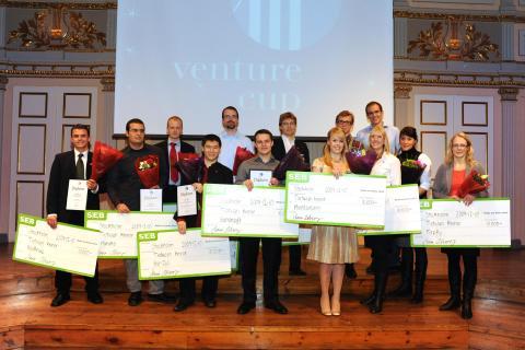 De tio bästa affärsidéerna i Venture Cup Öst prisade!