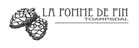La pomme de pin logo
