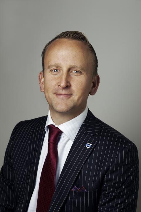 Kristian Elvefors, Försäljningsdirektör, Volvo Personbilar Sverige