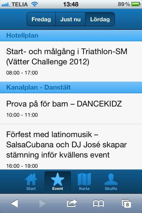 Appen som hjälper dig att hålla koll på Jönköpingsfesten!