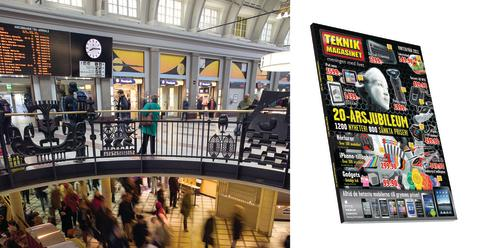 Teknikmagasinet öppnar på Stockholms Centralstation – kedjans 100:e butik