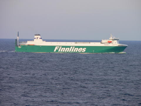 Finnlines collaborates with the Port of Gothenburg