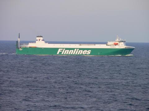 Finnlines i samarbete med Göteborgs Hamn