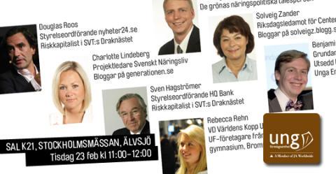 Stockholms unga företagare ser ljust på framtiden