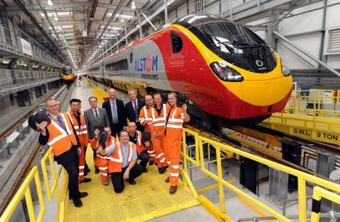 New Alstom Pendolino train to enter service with Virgin Trains next week