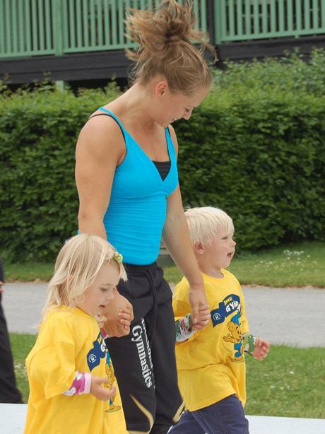 Motorisk träning i skolorna - folkhälsofråga anser Malin Eggertz Forsmark