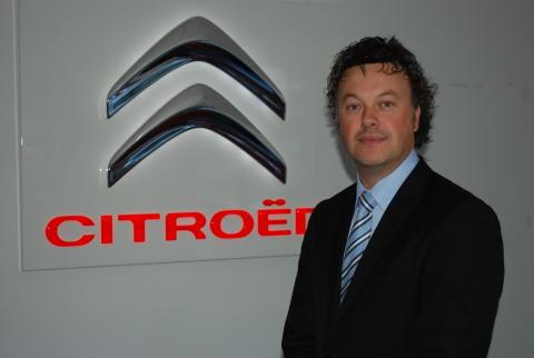 Magnus Bengtsson, försäljningsdirektör Citroën Sverige