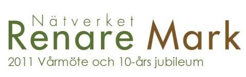 Tyréns medverkar på Renare Mark Vårmöte 2011