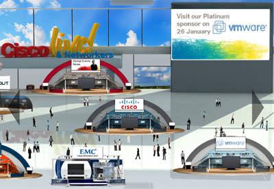 Besök Cisco-mässa virtuellt