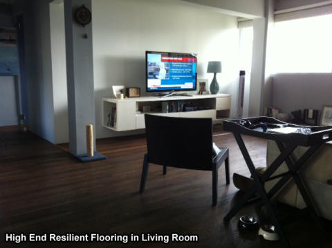 A Modern Home With High End Resilient Flooring
