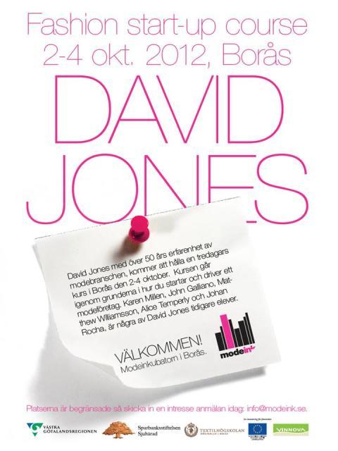 FASHION START-UP COURSE med DAVID JONES