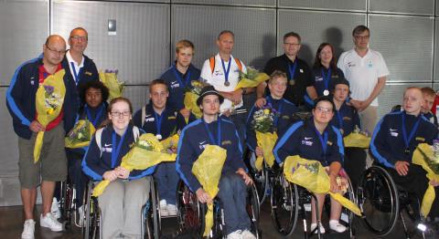 EM-silver till U22-landslaget i rullstolsbasket