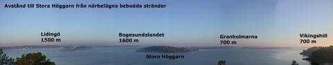 Panorama över Stora Höggarn